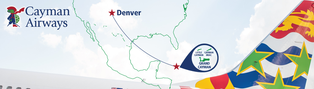 Enjoy twice-weekly nonstop flights between Denver and Grand Cayman this Winter!