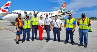 Cayman Airways Execs praise staff for dedication during Tropical Storm Grace