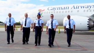 Personal message from Cayman Airways Pilots on the airline's Boeing 737-8 fleet's return to service